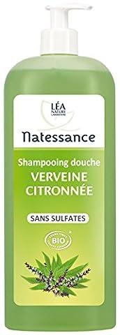Natessance Lemon Verbena Shower Shampoo 1L