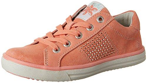 Lurchi Shirin, chaussons d'intérieur fille Orange (saumon)