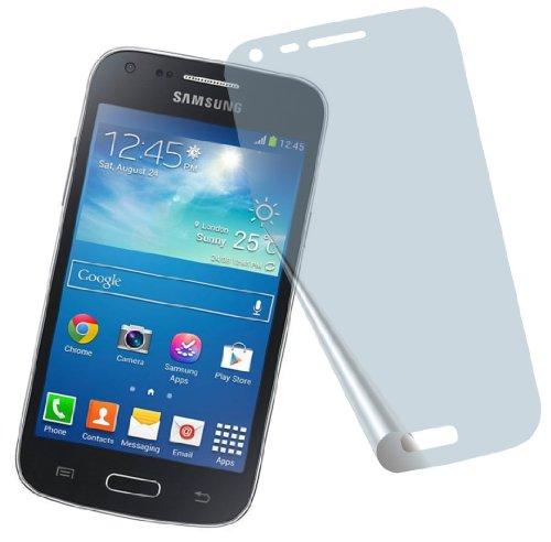 4x Samsung Galaxy Core Plus SM-G350 ENTSPIEGELNDE PREMIUM Displayschutzfolie Bildschirmschutzfolie Schutzhülle Displayschutz Displayfolie Folie
