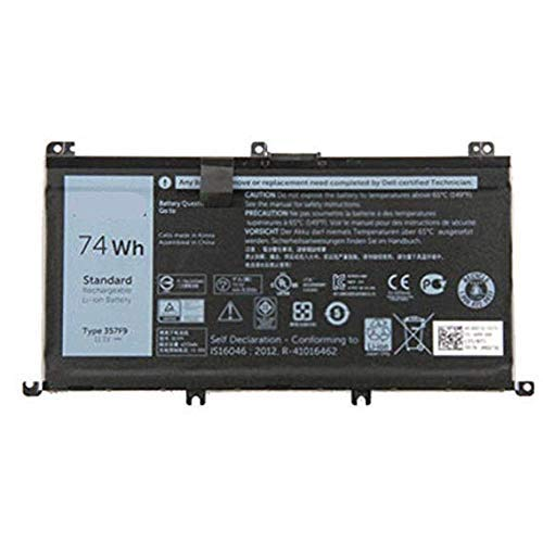 BPX Replacement for Laptop Battery 357F9 11.1V 74Wh for Dell Inspiron 15 7000 7559 INS15PD Series Laptop 0GFJ6 71JF4