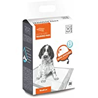 M-PETS 10163301Cachorros de sobremesa Cachorro Inodoro Puppy Pads Easy Fix con Tiras Adhesivas, 90x 60cm