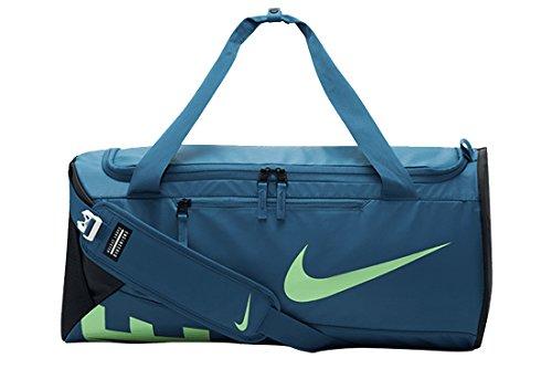 Nike Alpha Adapt Cross Body Sporttasche, blau/Grün, 20 x 18 x 5 cm