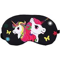 Jixing Schlafmaske Schlafmaske Augenmaske mit verstellbarem Gurt Einhorn Schlafmaske für Reise, Nacht, 2#, 19... preisvergleich bei billige-tabletten.eu