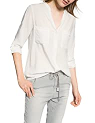 edc by ESPRIT Damen Loose Fit Bluse Loosefit