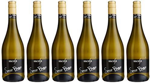 Gracioso Secco Bianco Vino Frizzante (6 x 0.75 l)