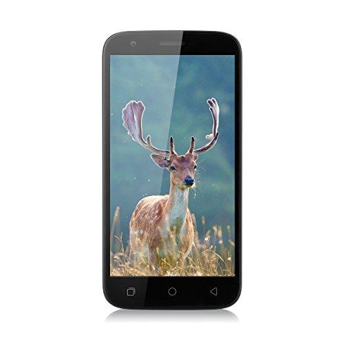 "Foto Ulefone U007 Pro - 4G Smartphone(5.0"" schermo HD, Android 6.0 1.3GHz Quad Core, 1G RAM+8G ROM, Camera 2.0MP+8.0MP, Dual SIM) Bianco"