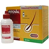 Fitoval Dermatological Lotion Against Hair Loss - Intensive Treatment Against Hair Loss and Limited Loss (2 vials of 40 ml)