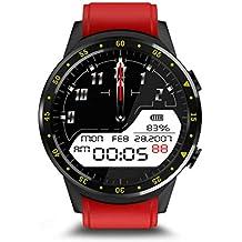 DXY Smartwatch Deportivo, Pulsera de Actividad Inteligente Pantalla a Color Impermeable IP67 Pulsómetro,Unisex