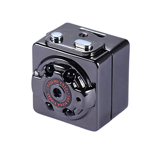 Mini Kamera Spy Cam Full HD 1080p 720p Recorder mit versteckter Videokamera Spy Mini kabellos – Sicherheit für Auto Sensor Bewegungsmelder – Videokamera DVR Digital Video Recorder Support 32 G TF Card SQ8