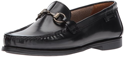 Sebago Plaza bit, Mocasines para Mujer, Negro (Black Leather), 40 EU