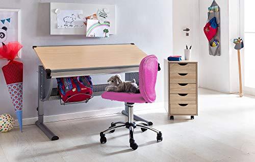 Sedie Da Scrivania Per Ragazzi : Amstyle anna pink sedia da scrivania per bambini dai anni in