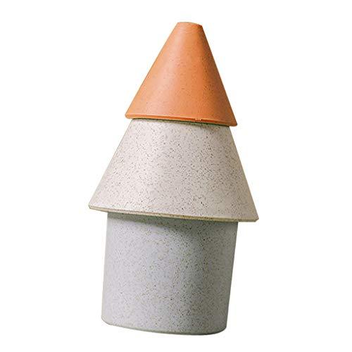 B Blesiya Mini Humidificador Portátil Aumenta Humedad de Aire y Reduce Polvo y Bacterias - Naranja