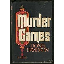 Murder games by Lionel Davidson (1978-08-01)