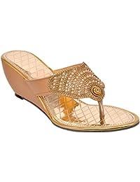 6356590fa Gold Women s Fashion Sandals  Buy Gold Women s Fashion Sandals ...