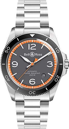 Bell & Ross Vintage br V2–92Garde Cotes Herren Armbanduhr brv292-ora-st/SST