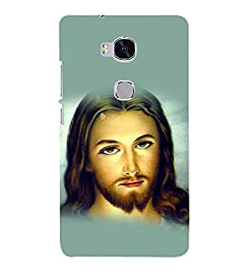 printtech Lord God Jesus Back Case Cover for Honor 5X