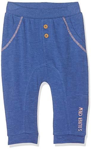s.Oliver Baby-Jungen 65.904.75.4955 Hose, Blau (Blue Melange 55w0), (Herstellergröße: 74)