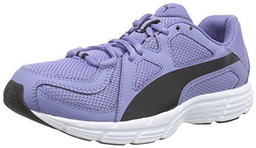 Puma Axis v3 Mesh, Unisex-Erwachsene Sneakers Blau (bleached denim-black 12)