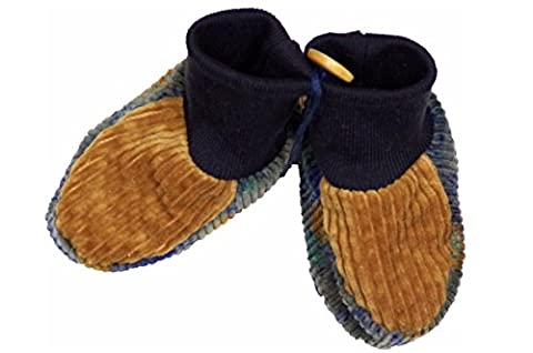 'Bitter Sweet Baby Slippers–100% Handmade in Düsseldorf Corduroy Baby Shoes Baby Socks