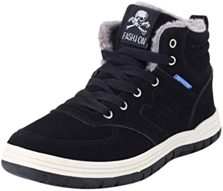 XINXINYU Men's High fuumlr warme Skischuhe Männer / Frauen Winter Stiefel Pluumlsch Outdoor Work Schuhe Warme Ankle
