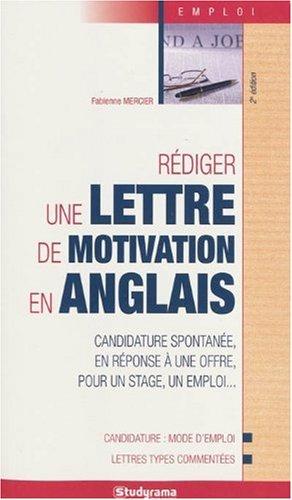 Rédiger une lettre de motivation en anglais