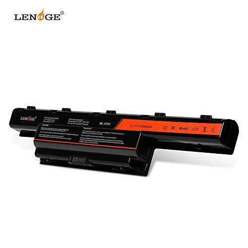 LENOGE AS10D81 Ersatz Batterie für Acer 4551 5742g 7741 7250 AS10D51 AS10D31 AS10D3E AS10D41 AS10D61 AS10D71 AS10D73 AS10D75 Aspire 4551 4741 für Acer/eMachines/Packard Bell (5200mAh 11.1V