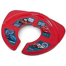 Tapa de inodoro para niños, plegable, diseño de Disney Cars
