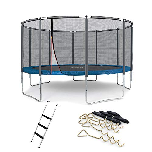 Ampel 24 Outdoor Kindertrampolin Test