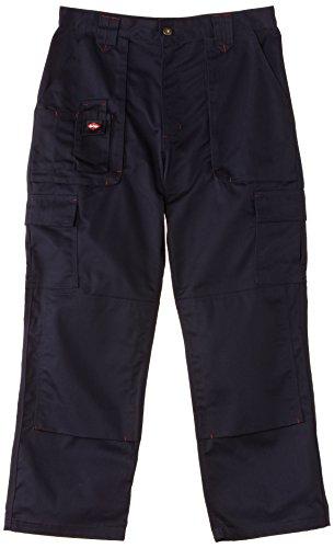 Lee Cooper Cargo Pantalon pour homme - Noir -36W/32L bleu