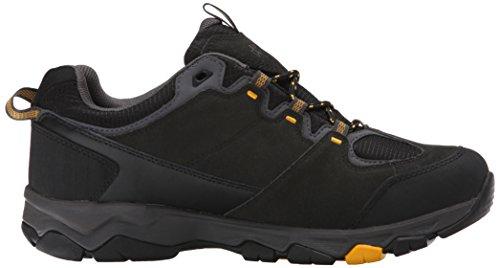 Jack Wolfskin Mtn Attack 5 Texapore Low M, Chaussures de Randonnée Basses Homme Noir (burly Yellow 3800)