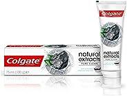 Colgate Tpaste Naturals Charcoal, 75 ml