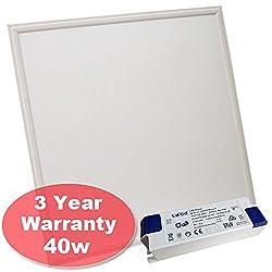 Concept Leds 600 X 600 40w Led Light Panel Square Panel Light, 6500k 3 Year Warranty [Energy Class A++]