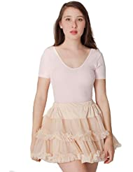 American Apparel Multi-Layered Reversible Petticoat
