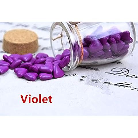 mdlg Vintage 90pcs Viola a forma di