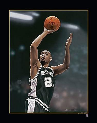 NBA San Antonio Spurs Tim Duncan Victory Fine Art Print