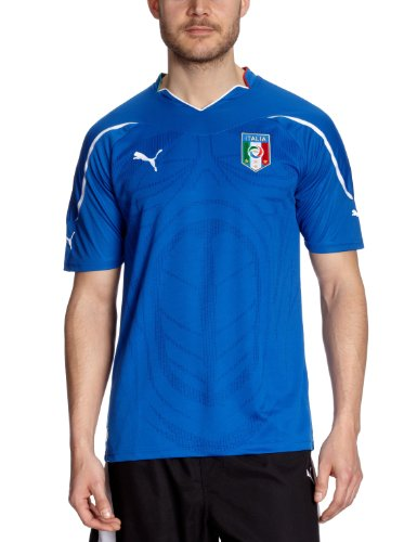 Puma Herren Italien Heim-Trikot Replica, Team Power Blue, XL, 736646 01 - Italienische Trikot Nationalmannschaft