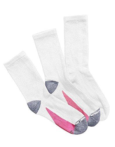 hanes-calze-donna-multicolore-bianco-rosa-1012
