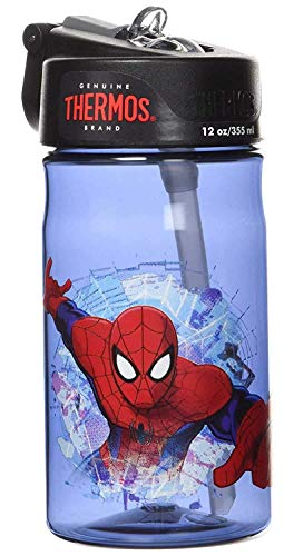 Thermos 12 Ounce Tritan Hydration Bottle, Spiderman by Thermos