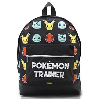 416YuorTqFL. SS324  - Mochila Pokemon Escolar Let's Go Pikachu Charmander Bulbasaur para Niños Niñas