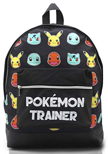 Mochila Pokemon Escolar Let's Go Pikachu Charmander