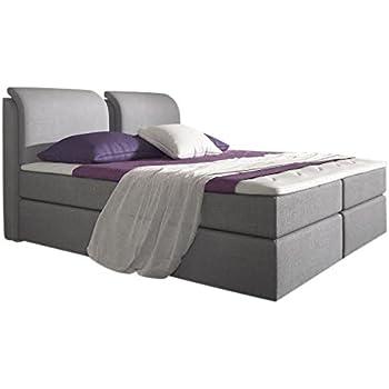 stilea boxspringbett 180x200 mit topper bonell federkern boxen 7 zonen taschenfederkern. Black Bedroom Furniture Sets. Home Design Ideas