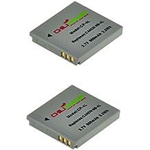 2x ChiliPower NB-4L Batteria (900mAh) per Canon Digital IXUS 30, 40, 50, 55, 60, 65, 70, 75, 80 IS, i7, Powershot SD30, SD40, SD200, SD300, SD400, SD430, SD450, SD600, SD630, SD750, SD780 IS, SD940 IS, SD960 IS, SD970 IS, SD1000, SD1100 IS, SD1100 IS, SD1400 IS, TX1, ELPH 100 HS, 300 HS, 310 HS, 330 HS, VIXIA mini