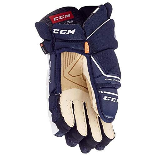 CCM Super Tacks AS1 Handschuhe Senior, Größe:13 Zoll, Farbe:Navy/Weiss