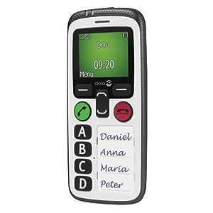Doro Secure 580 Sim Free Mobile Phone - White