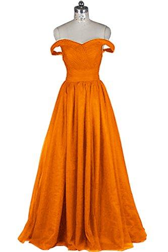 Promgirl House - Robe - Trapèze - Femme Orange