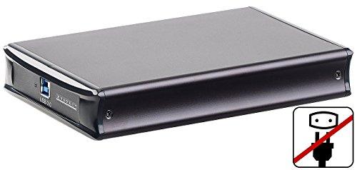 Xystec Netzteilloses USB-3.0-HDD-Gehäuse für 3,5