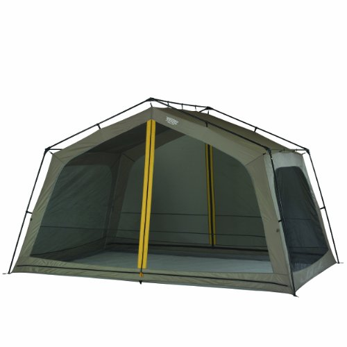 416Yx7w4ApL. SS500  - Wenzel Zephyr Unisex Outdoor Screen House Tent available in Grey - Size 13 x 9 feet