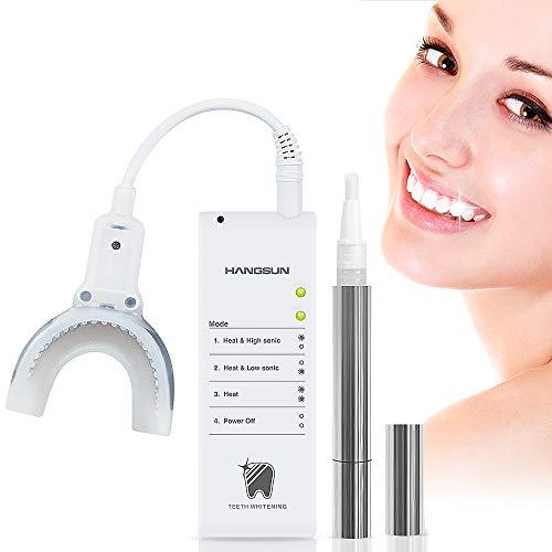 Hangsun Zahnaufhellung Stift Bleaching Set HM21 Teeth Whitening Pen Kit Zahnweißstift für Zuhause Schmerzfrei & Ohne Nebenwirkungen