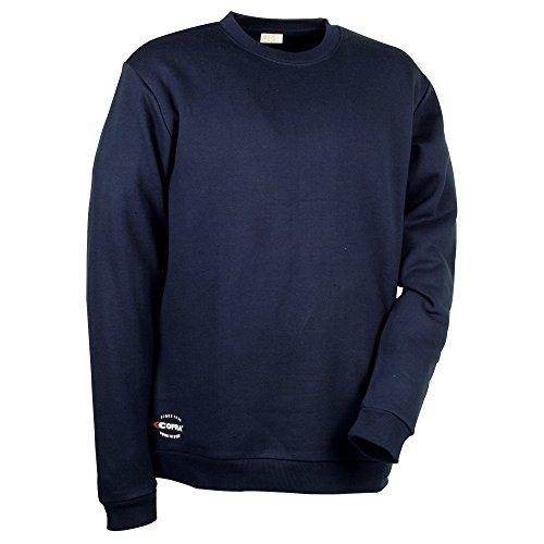 Preisvergleich Produktbild Cofra Sweatshirt mit dehnbarem Gewebe Agadir V109 robuster Pullover, S, marine, 40-00V10902-S