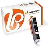 Bubprint Druckerpatrone kompatibel für Canon CLI 551 XL CLI-551XL BK 551XL für Pixma IP7250 IP8750 IX6850 MG5450 MG6450 MG7550 MX920 MX925 Fotoschwarz